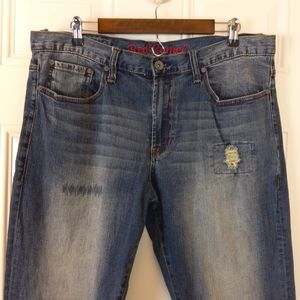 Red Camel original straight distressed jeans
